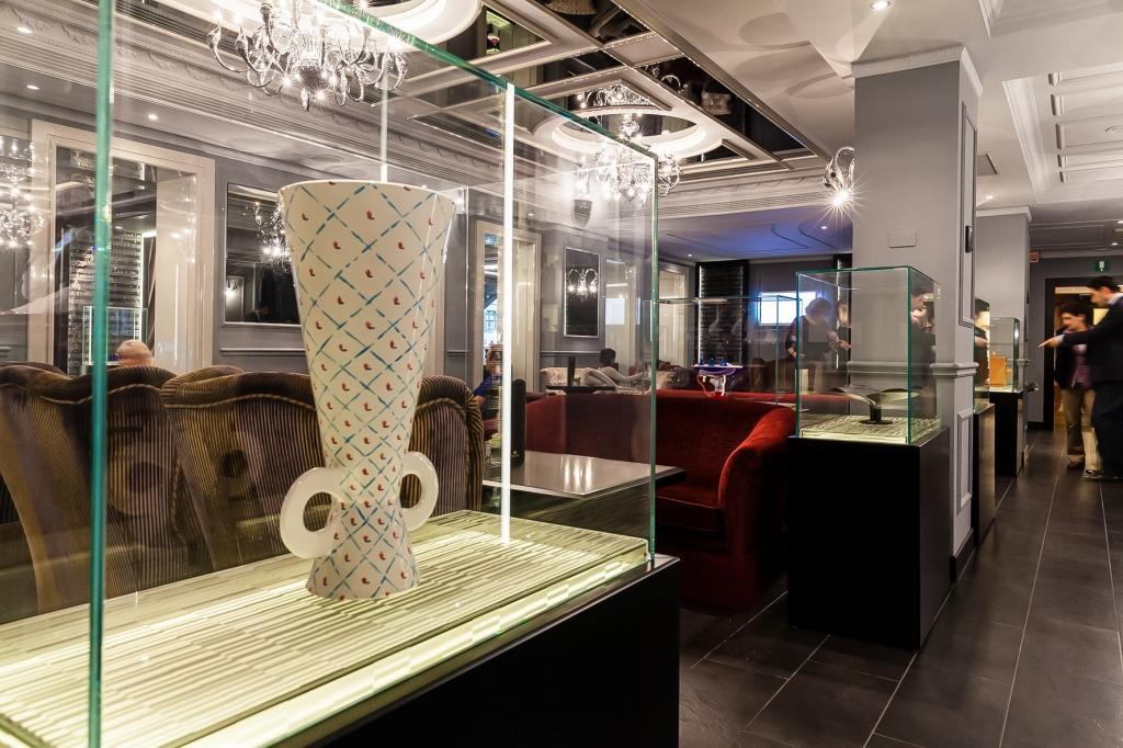 выставка в кафе Baglioni