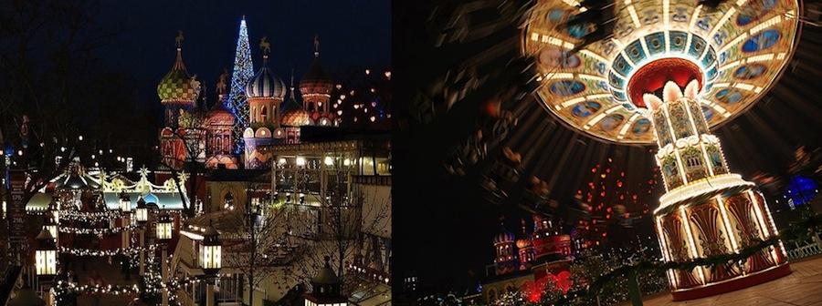 сады Тиволи, Дания, рождественские ярмарки, Копенгаген, рождество в Копенгагене