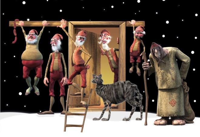 исландские духи рождества