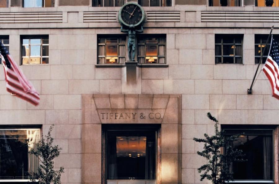 знаменитый бутик Tiffany & Co Store на Пятой Авеню