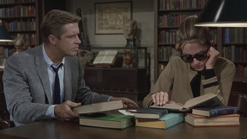 """выяснение отношений в библиотеке """"Завтрак у Тиффани"""""""
