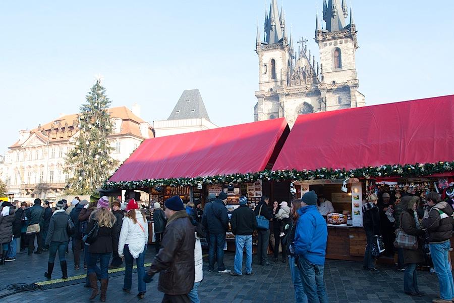 Ярмарка на Староместской площади