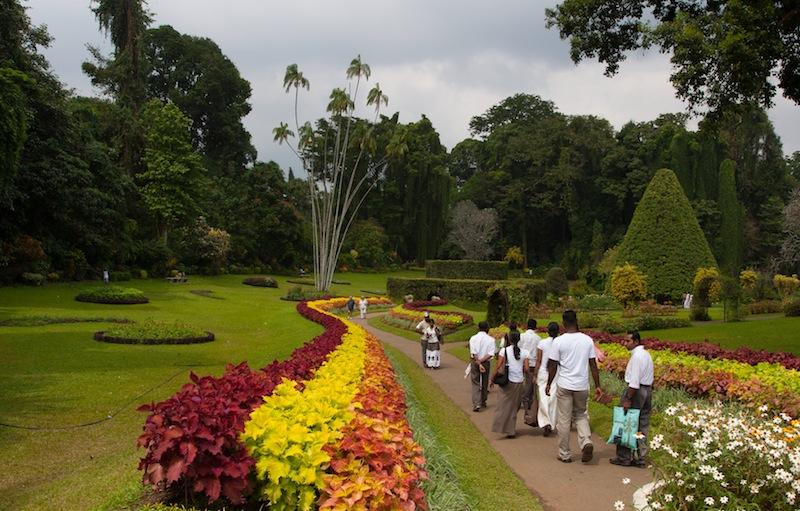 вход в Королевский сад