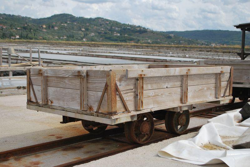 вагонетки для отгрузки соли