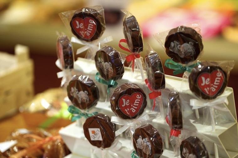 конфеты в кондитерской Poyet