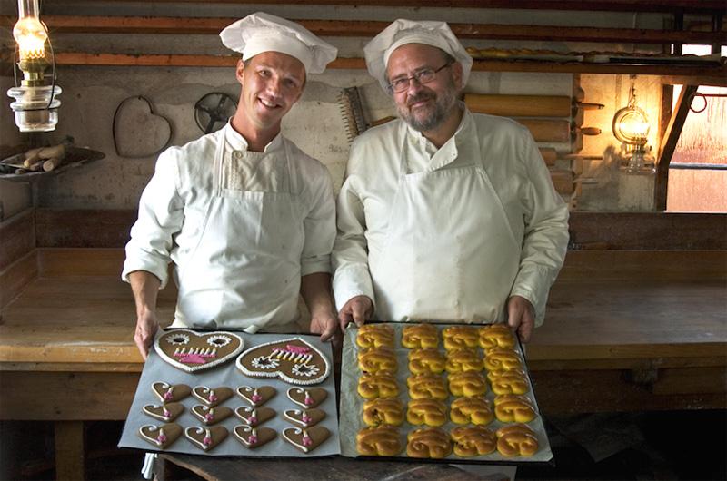 повара и печенюшки в Скансене