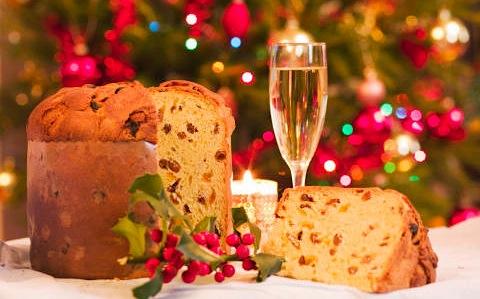 рождественский пирог панетонне
