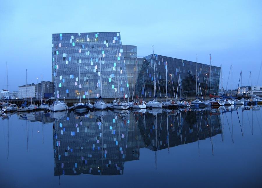 Harpa, the Reykjavik opera house
