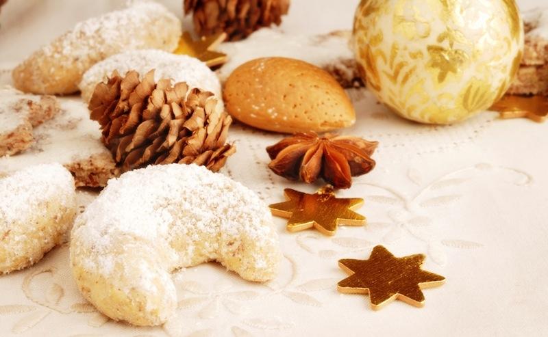 рождественская выпечка и печенья