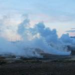 Долина Хаукадалур в Исландии: лед, гейзеры и водопад Гюдльфосс