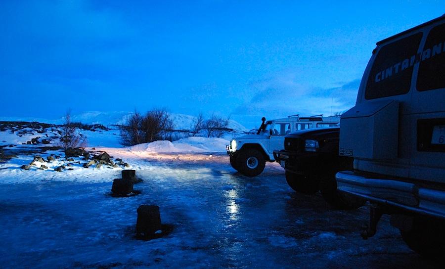джипы для путешествия на ледник