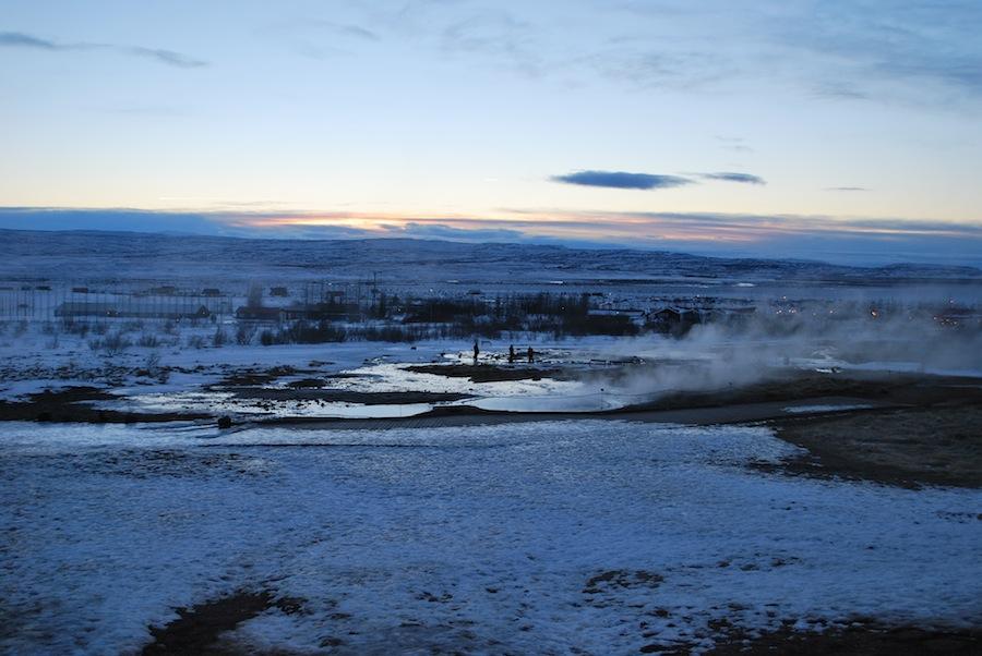 долина гейзеров, 11 утра