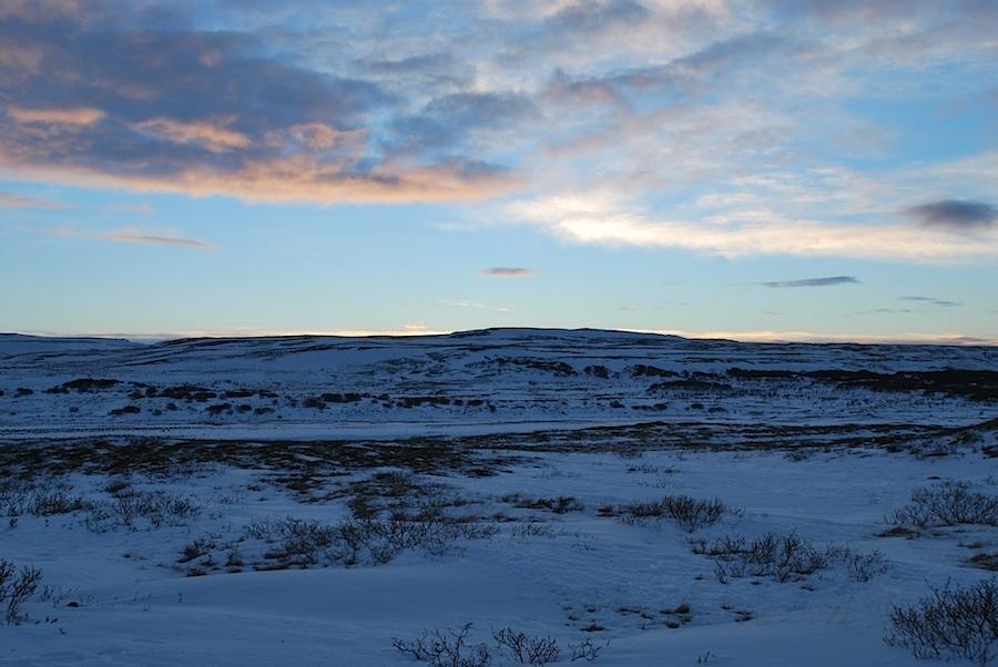 плато близ долины гейзеров