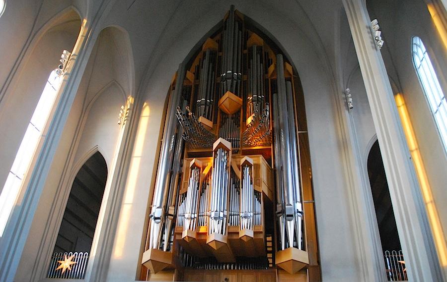 орган в церкви Хатльгримскиркья