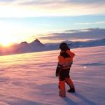 Ледник Лаунгйёкудль в Исландии: научиться читать снег