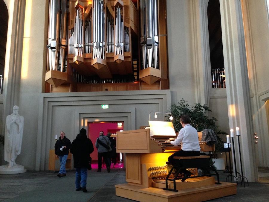 концерт органной музыки в церкви