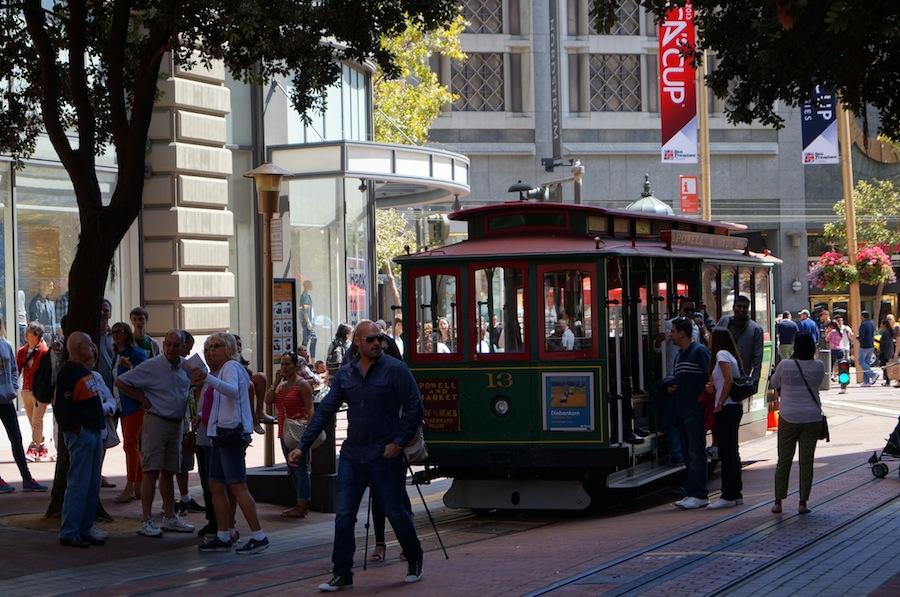 знаменитый трамвай Сан-Франциско