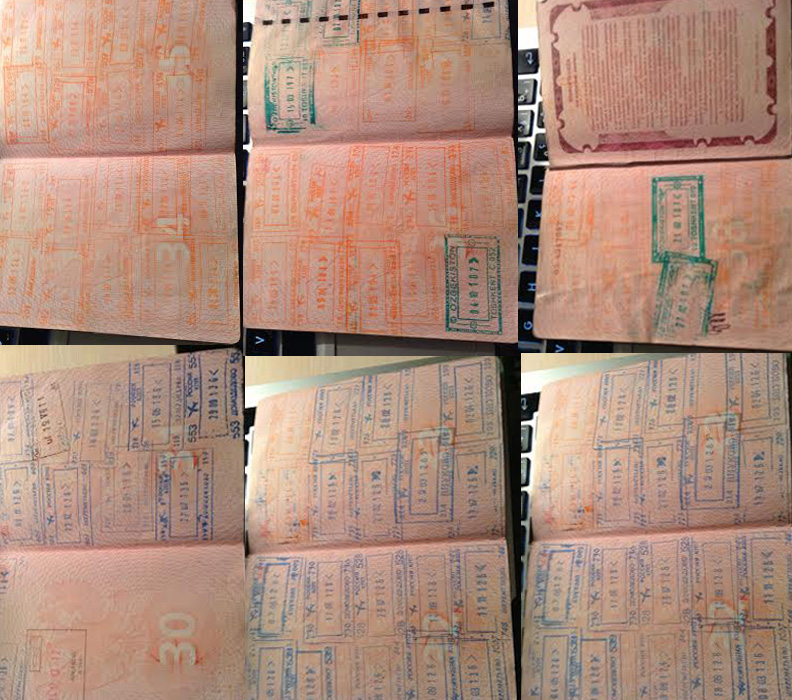 первые старницы паспорта