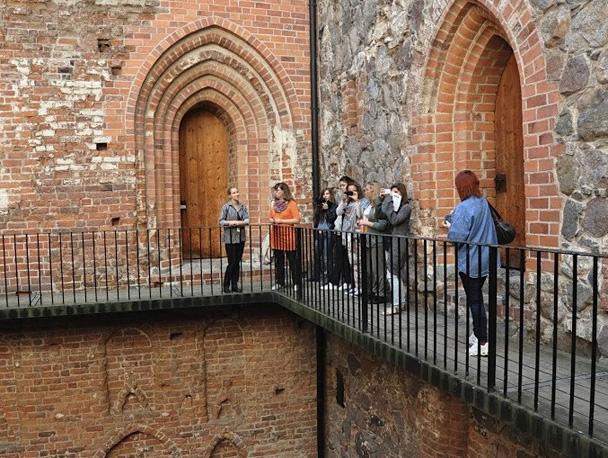 Внутри крепости Хяме