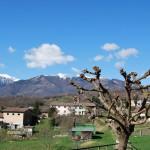 Пасторальный пейзаж в горах