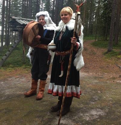 потомственные финские шаманы