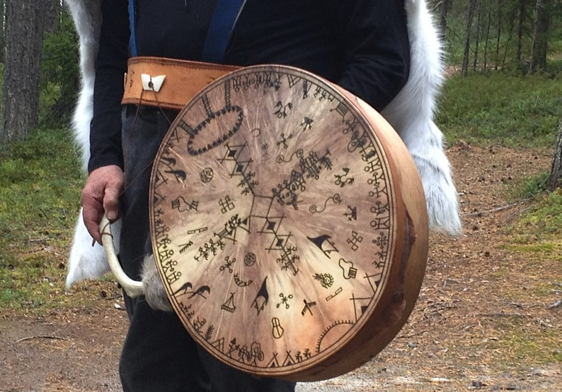 бубен финского шамана