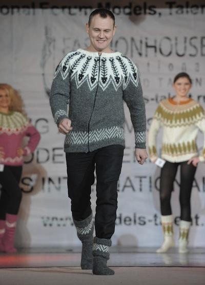 лопапейса на неделе моды в Исландии