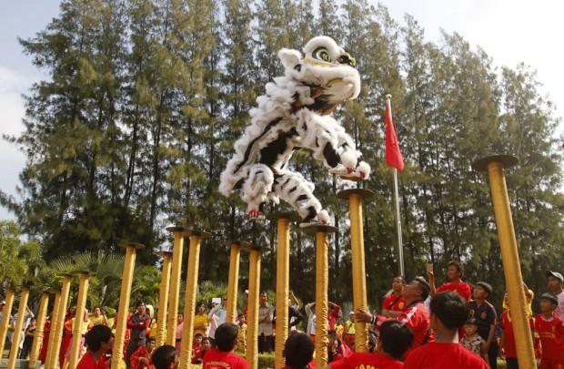 китайский новый год в Камбоджи