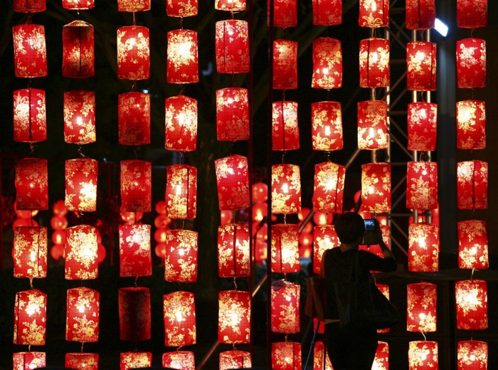 Красные фонари в Куала-Лумпуре