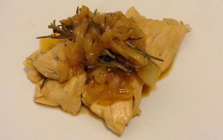 курица под пивным соусом