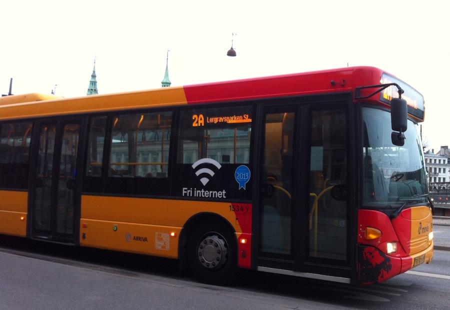 автобус с WIFI