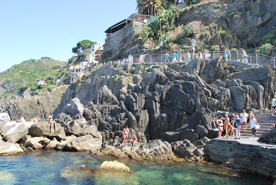пляж близ Риомаджоре