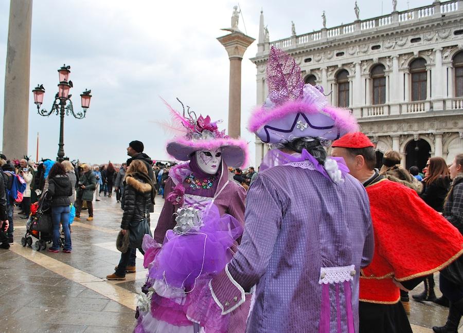фиолетовые маски