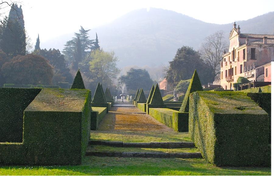 сад виллы на Эуганских холмах