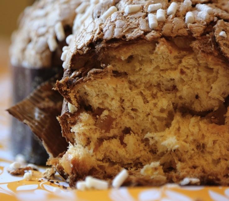 итальянский пасхальный пирог Colomba