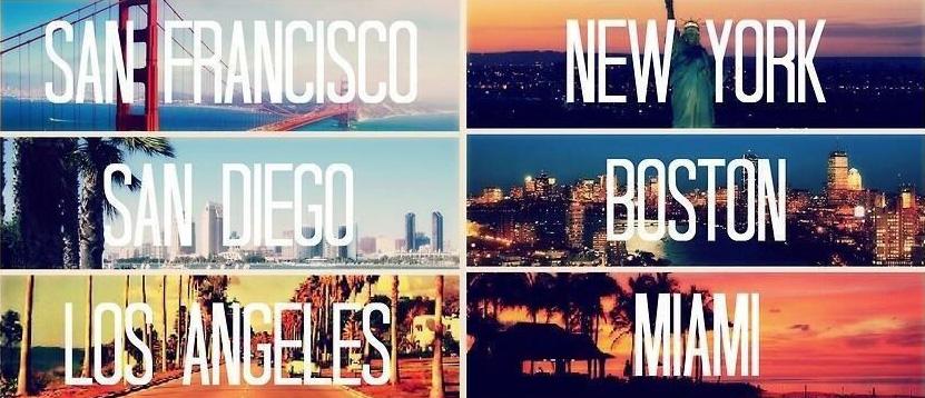 лучшие города Америки