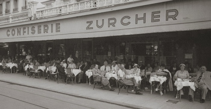 кафе Confiserie Zurcher