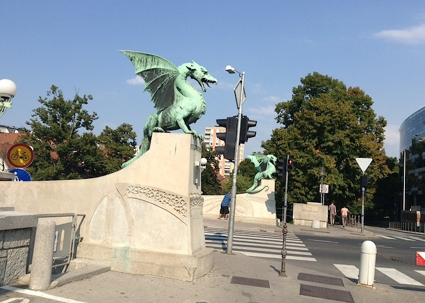 Змиев Мост с Драконами, Любляна