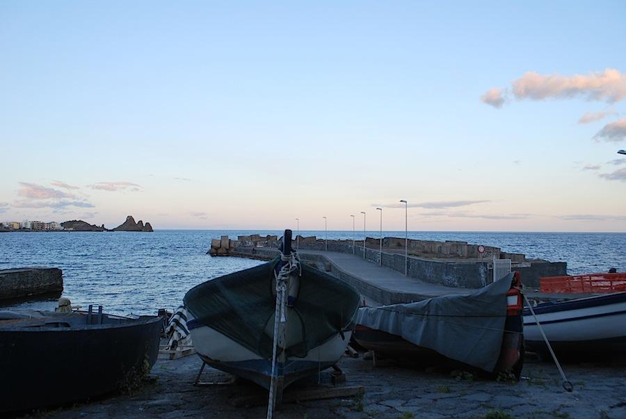 лодки, Ачитрецца, Сицилия