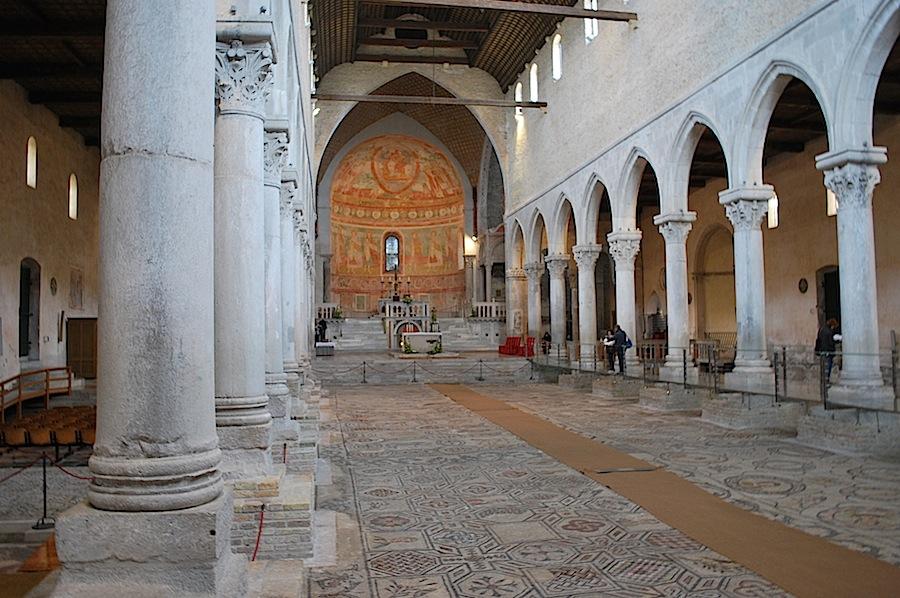 мозаичный пол в Аквилеи