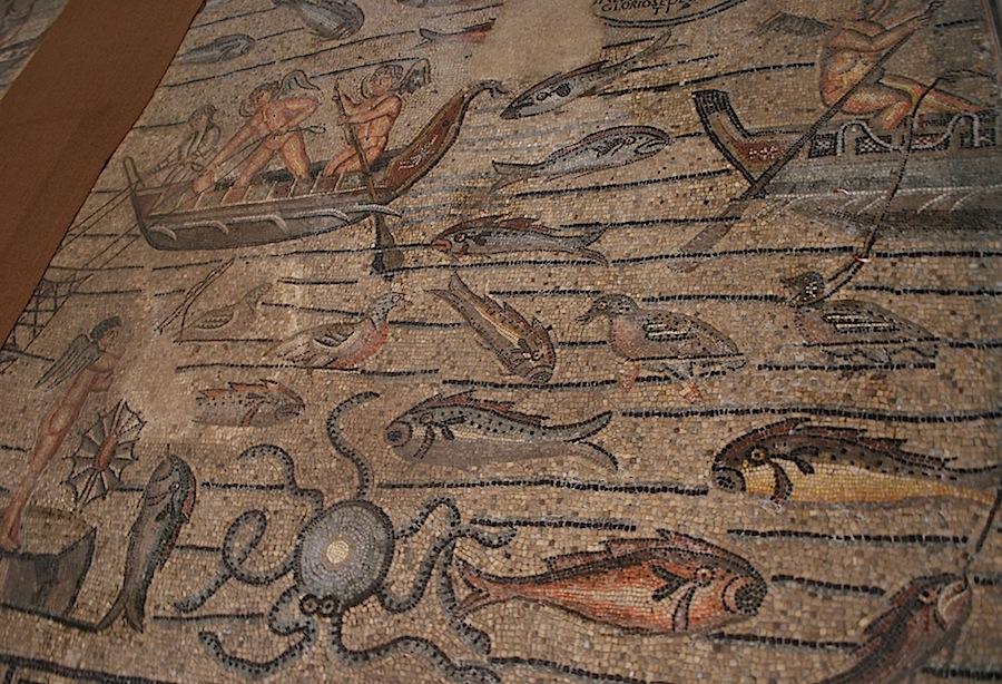 рыбы и рыбаки, христианская символика, Аквилея
