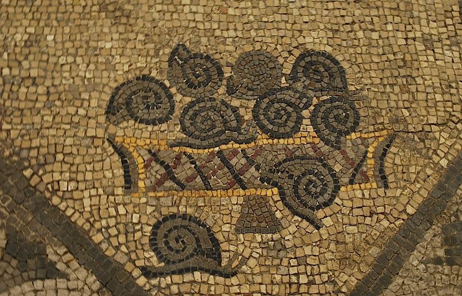 улитки, мозаика, Аквилея