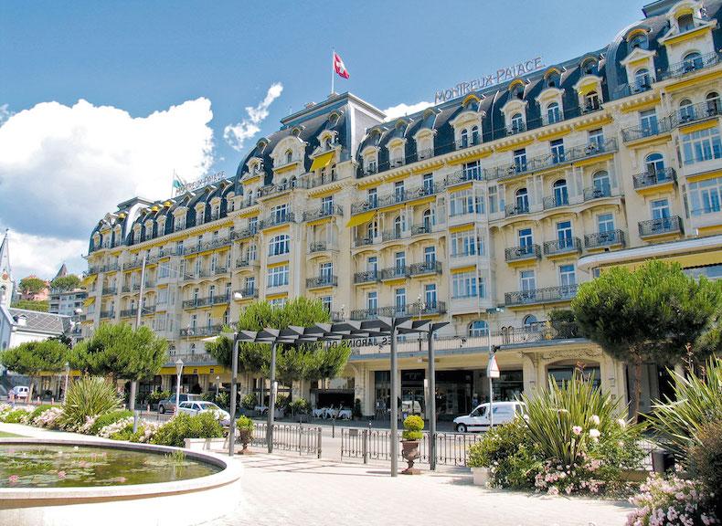отель Montreux Palace, где жил Набоков