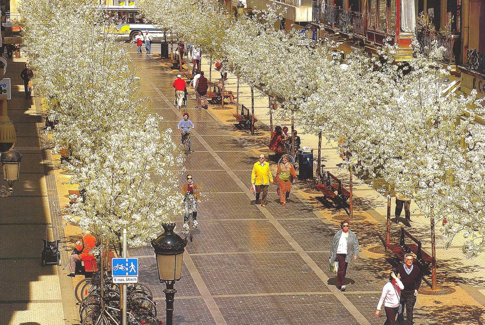 улочка Сан-Себастьяна