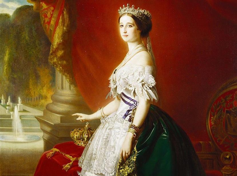 французская императрица Евгения Монтихо