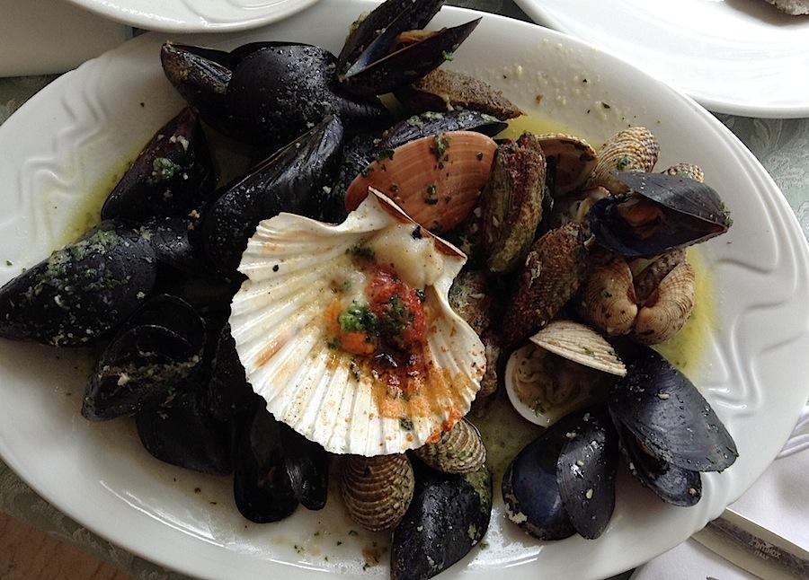 ассорти из моллюсков
