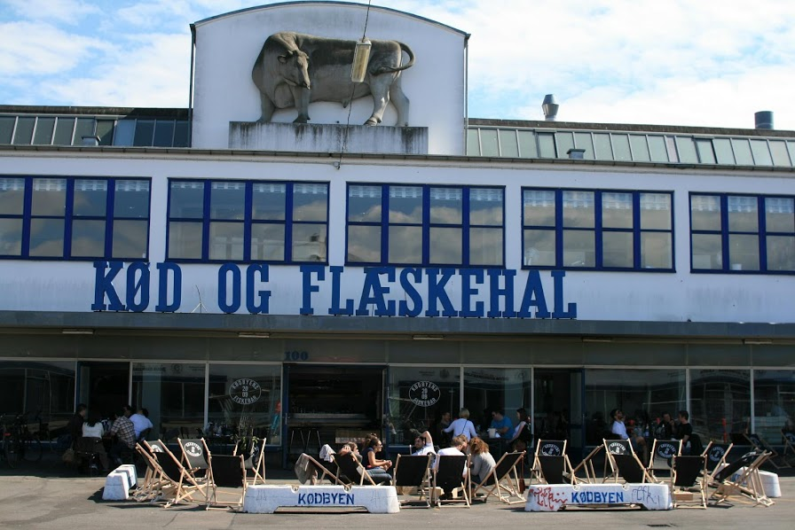 летняя веранда Kodbyen Fiskenbar