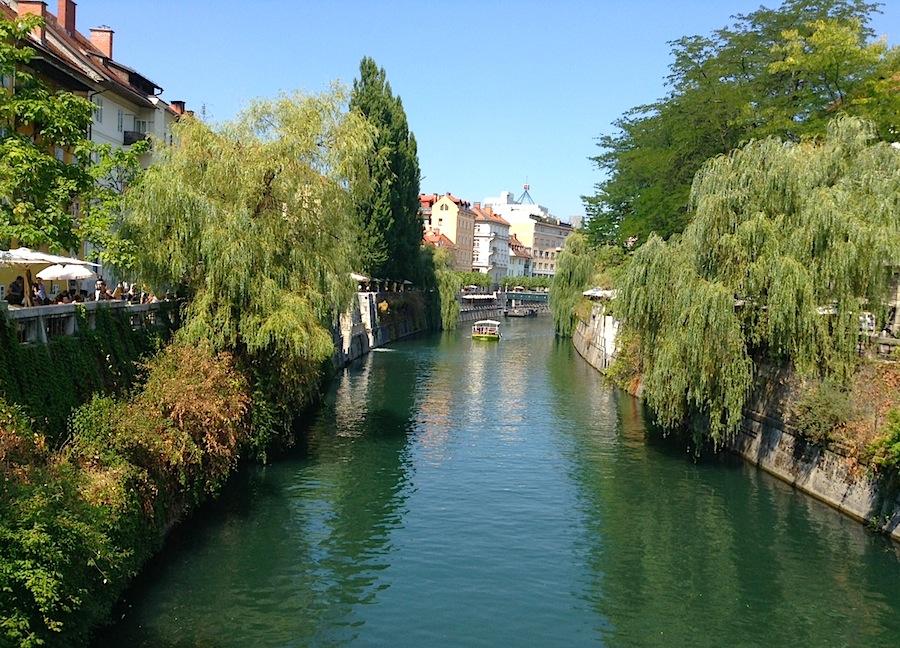 река Любляница, Любляна