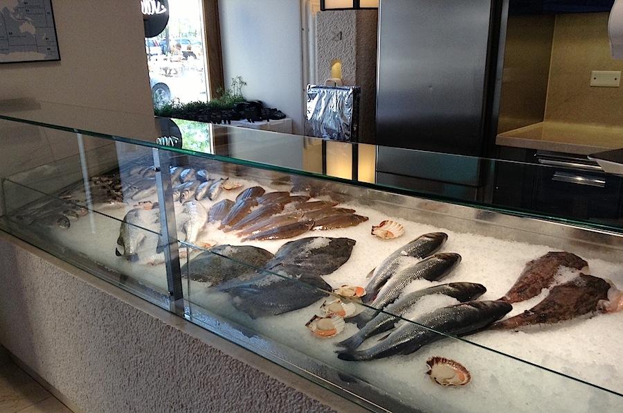 рыбный ресторан, Любляна