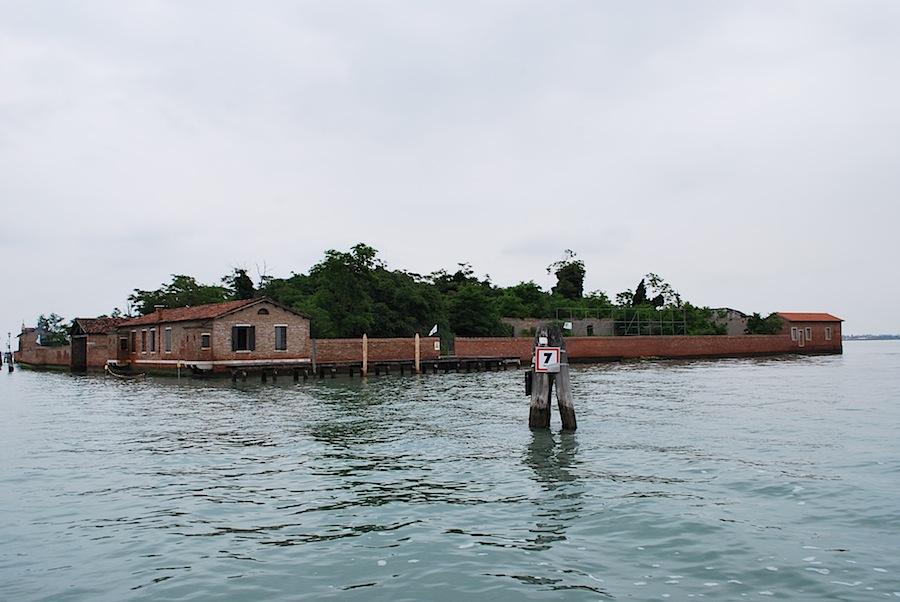 остров в Венецианской лагуне